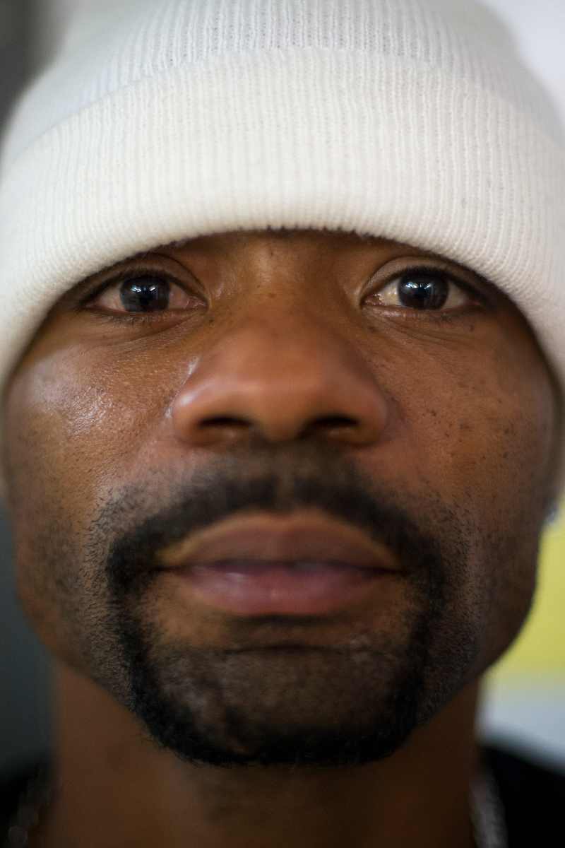 Quincy Kennedy poses for a portrait inside Bigger Vision Community Shelter on Wednesday, Nov. 19, 2014, in Athens, Ga. Kennedy, an Athens native, attended both Clarke Central and Cedar Shoals. (AJ Reynolds/Staff, @ajreynoldsphoto)
