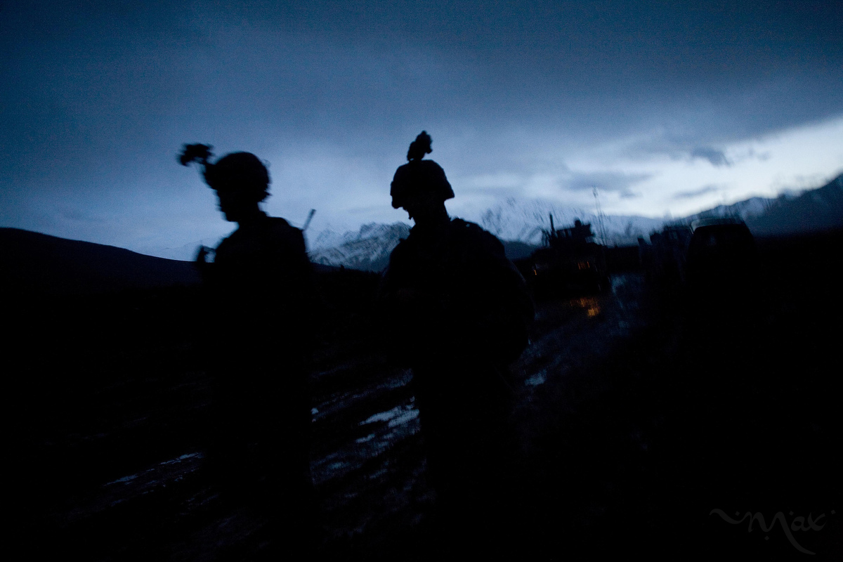 The Marines have been unable to get control of the Marjah District in Afghanistan, where the Taliban insurgency is thriving with support from Pakistan and revenues from opium trade in the region.