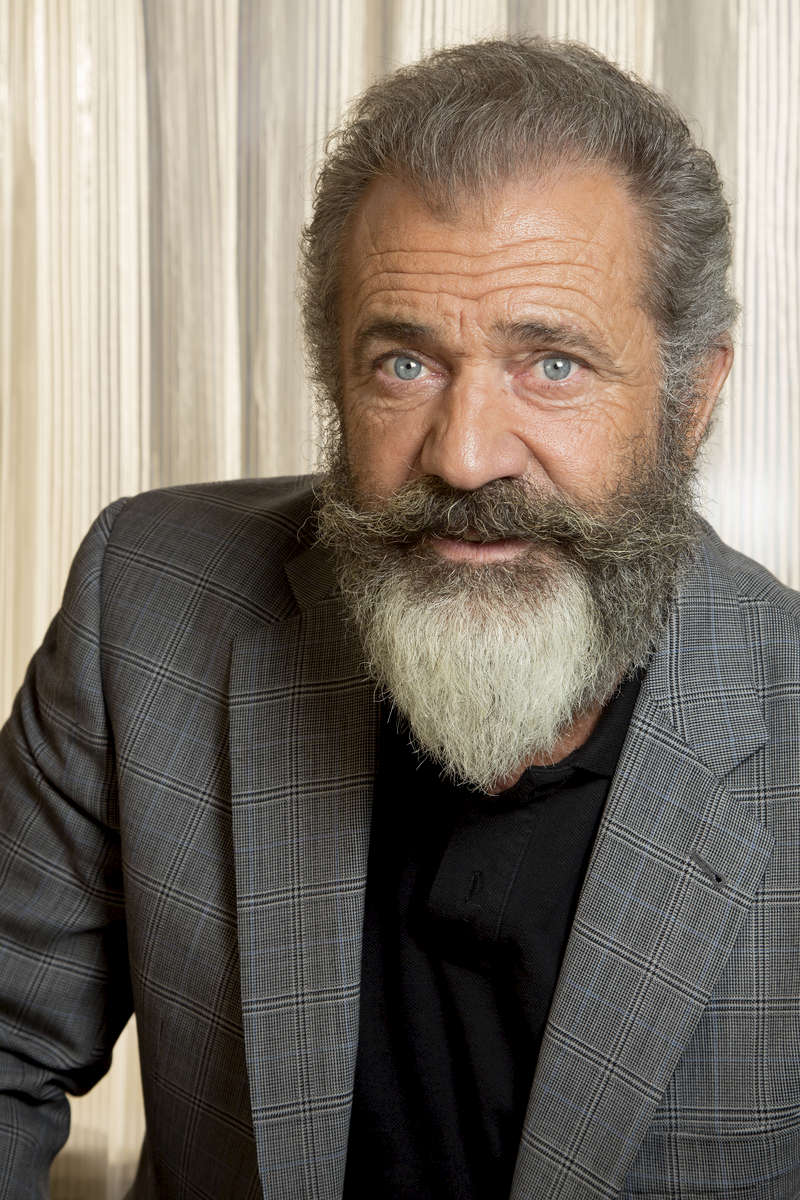 NEW ORLEANS, LOUISIANA. Mel Gibson poses for a photo at the Ritz Carlton in New Orleans, La., Wednesday, Oct. 26, 2016. Gibson directed a film about Congressional Medal of Honor recipient Desmond Doss in a new movie titled {quote}Hacksaw Ridge.{quote} (AP Photo/Max Becherer)
