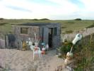 Dune shack on the back shore