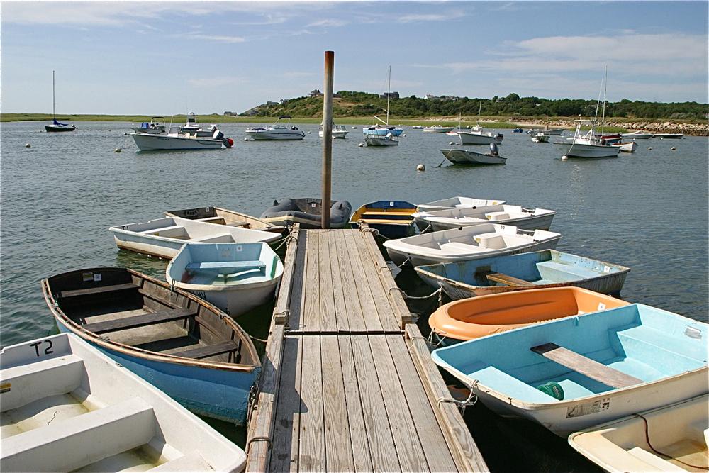 Dinghies at Pamet Harbor
