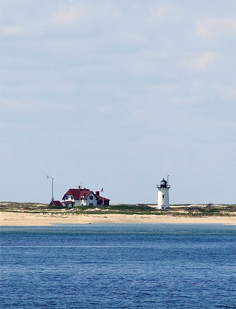 Race Point Light & keeper's house