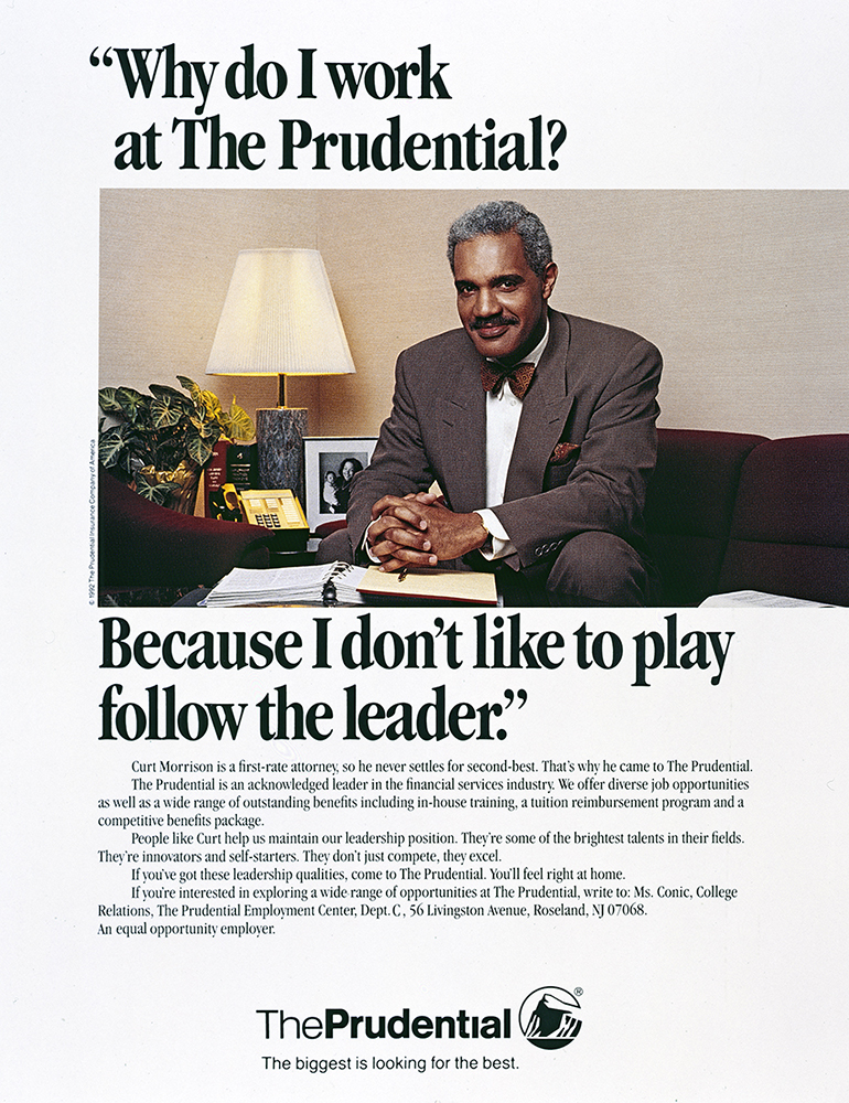 PRUDENTIAL INSURANCE / CAROLYNE JONES ADVERTISING