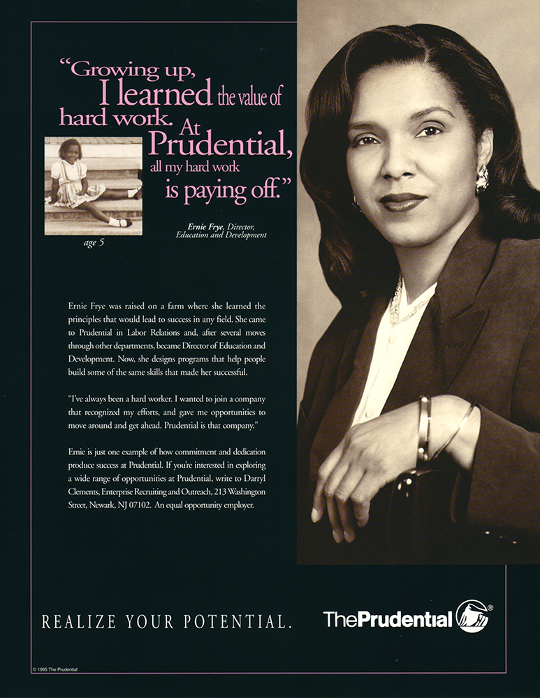 PRUDENTIAL INSURANCE / CAROLYN JONES ADVERTISING