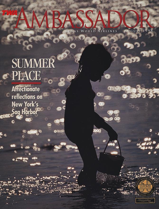 COVER ILLUSTRATION / TWA AMBASSADOR MAGAZINE