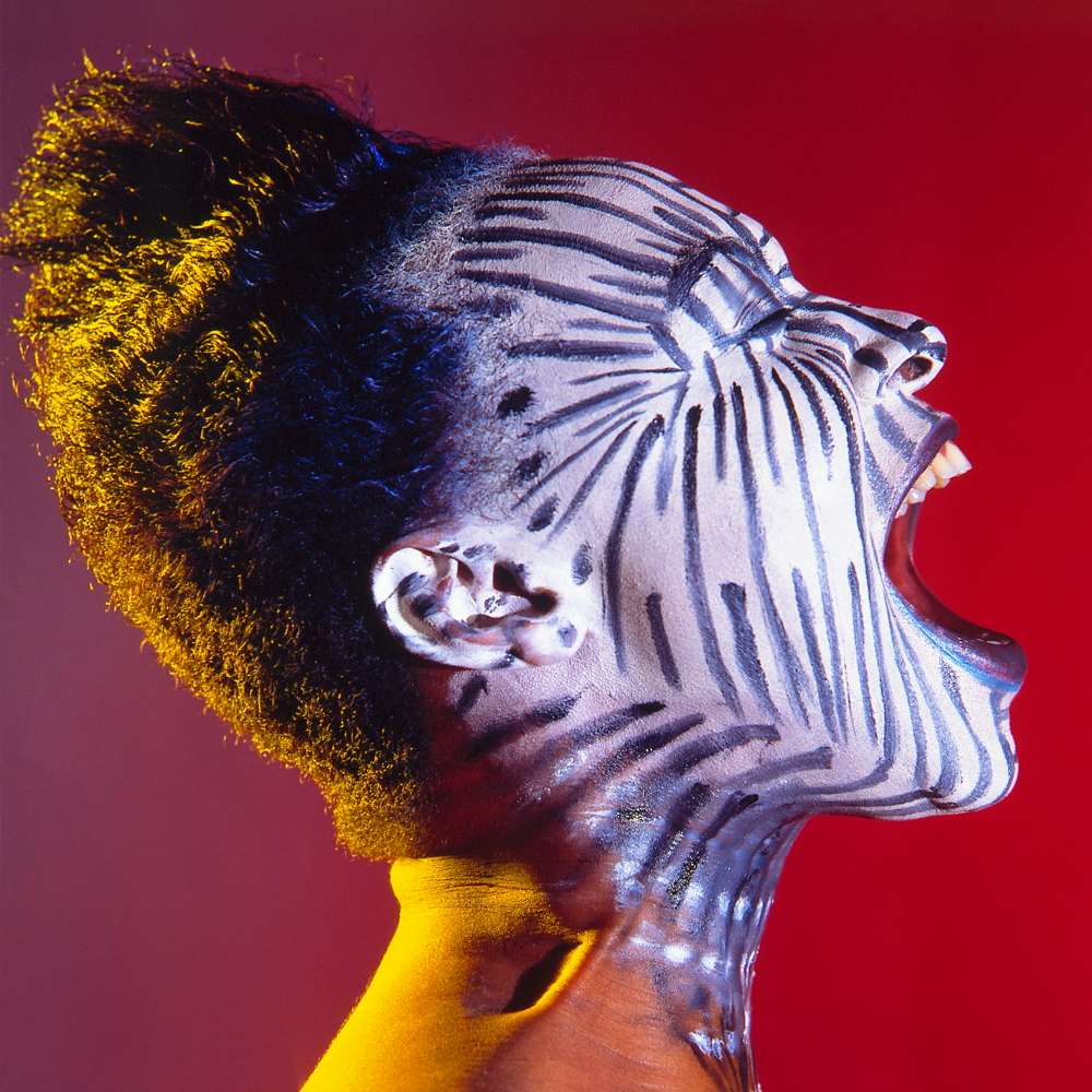 Zebra-Woman