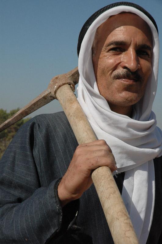 Farmer in Budrus