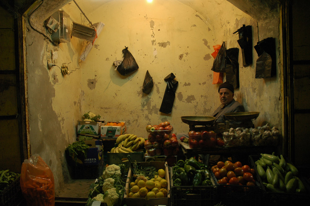 Store keeper in Hebron