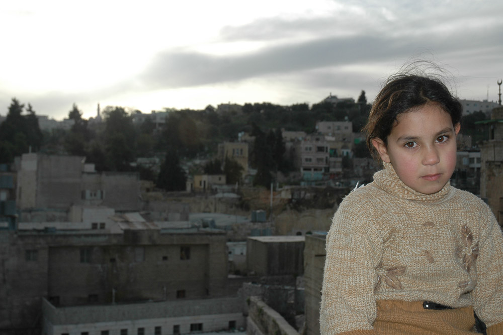 Young girl in Hebron