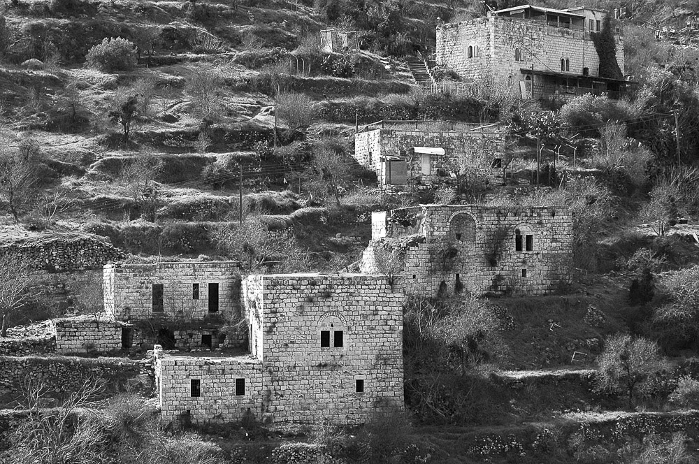 Lifta was a Palestinian village on the outskirts of Jerusalem. The population fled during the Nakba in 1948. The village is fairly intact; in 2012 plans to rebuild the village as an upscale neighborhood were rejected by the Jerusalem District Court.