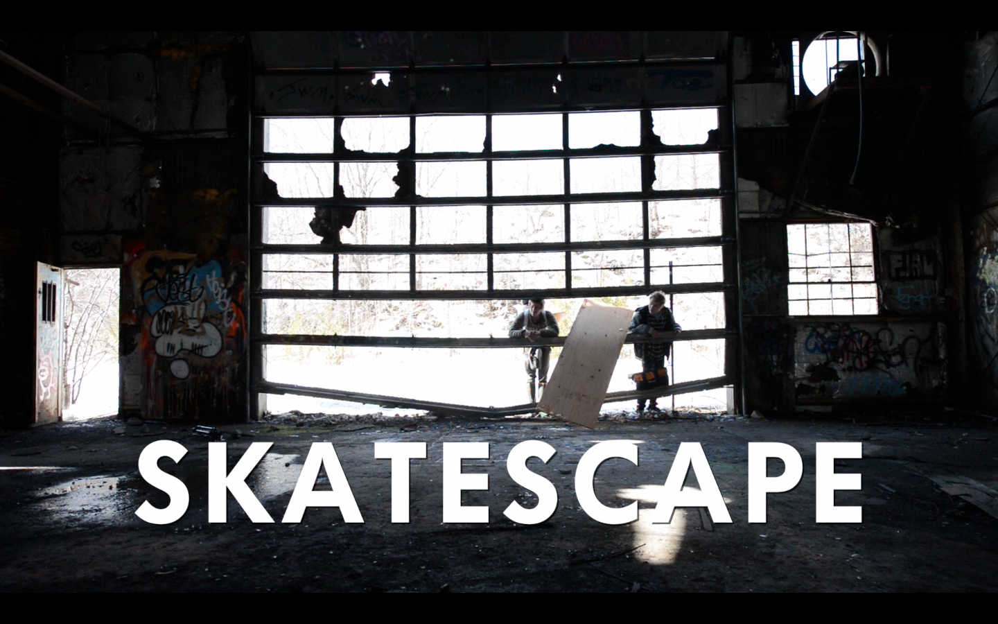 During the middle of February in Central New York, it is difficult to beat the monotony of an indoor park and find a spot that spawns creativity. {quote}Skatescape{quote} features the birth of such a skate spot in a long abandoned industrial building.