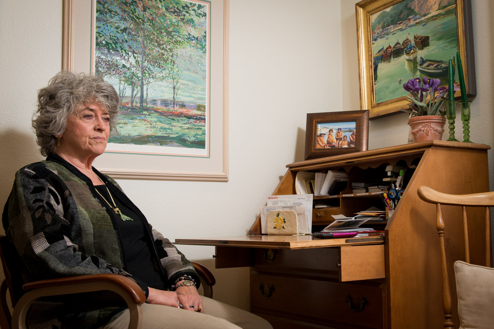 Leigh Collings is a geriatric care manager and a medical marijuana caregiver. Collings, 67, has a special license to purchase and transport medical marijuana for a homebound client, but she does not use marijuana herself.