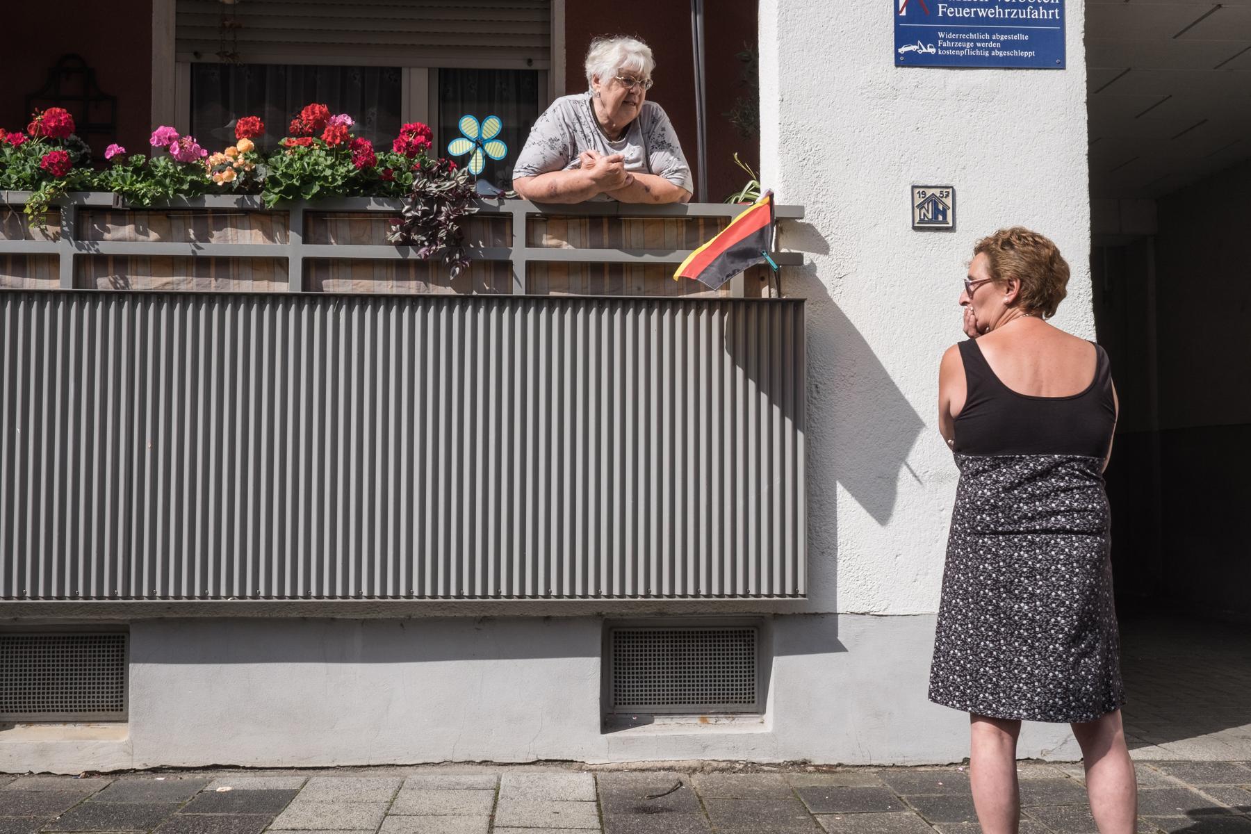 Street scene on Offenbach.