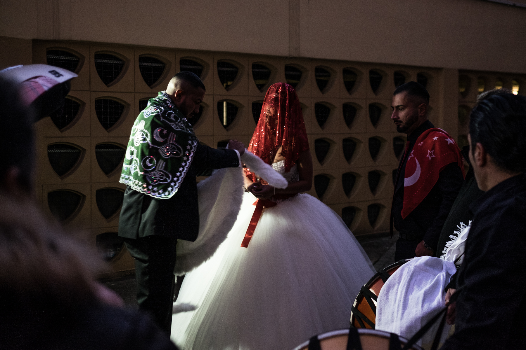 A Turkish wedding at downtown Offenbach