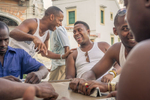 domino players in Havana