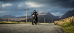Harris Distillery- Simon Erlanger on his motorbike
