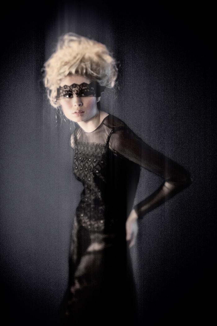 Nina Nesbitt with hair styled by Austen Thomson