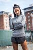 model wearing Tombo sportswear in edinburgh