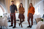 Fashion photography for the Kinloch Anderson Highland wear range in The Caledonian Hotel Edinburgh