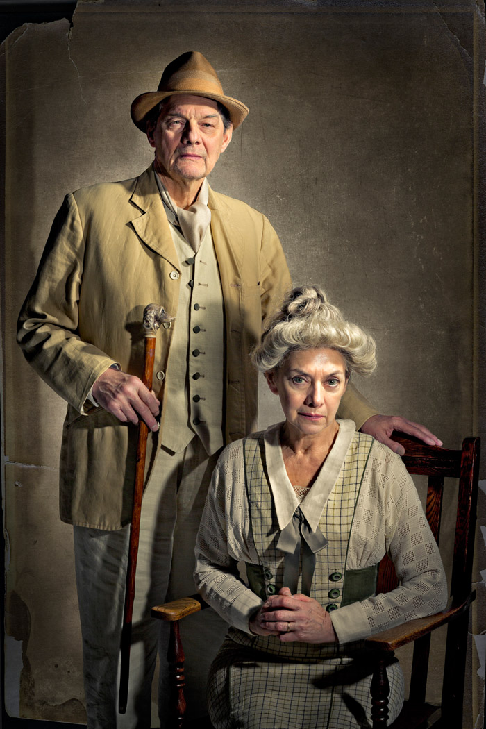 family portrait for A long day's journey into Night. For the Lyceum Theatre, Edinburgh.