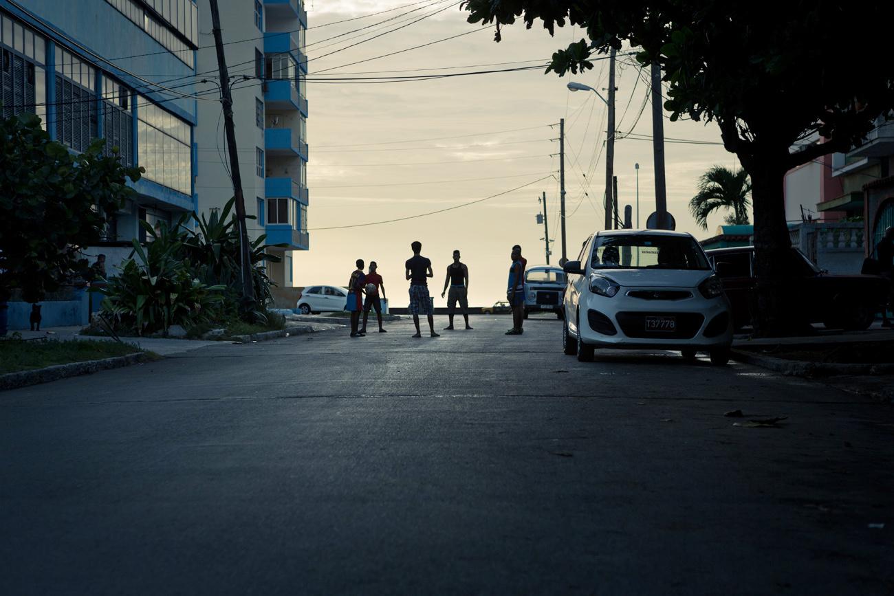 street kids in Havana