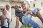 domino players in Havana
