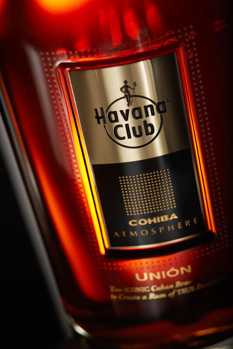 bottle of Havana Club Union