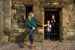 Historic Scotland  - man stuck in the prison at St Andrews Castle