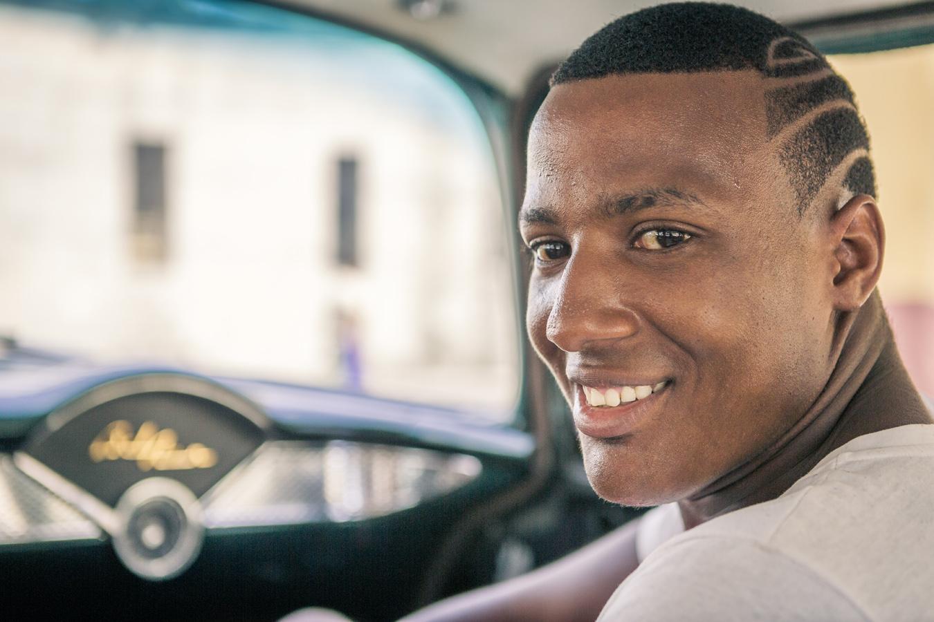 taxi rider - Havana