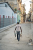 fisherman heading home - Havana