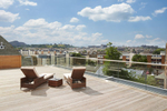 view of the roof terrace of a new Kingsford property