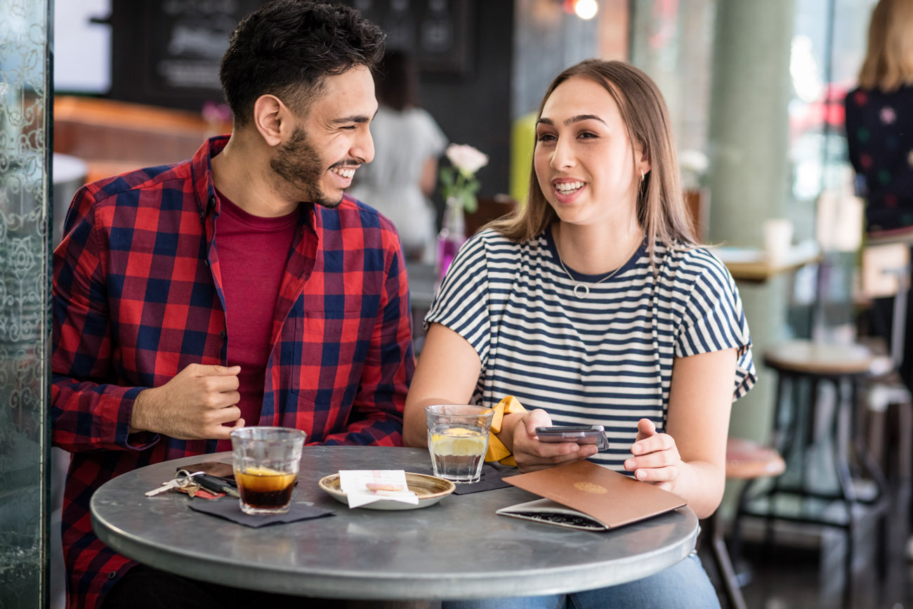 lifestyle photography for Tesco Bank, using the Tesco banking app.