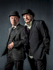 Poster and publicity image for Lyceum Theatre production of Waiting for Godot with Bill Paterson and Brian Cox