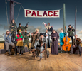 Poster and publicity images for Lyceum Theatre production of Caucasian chalk circle