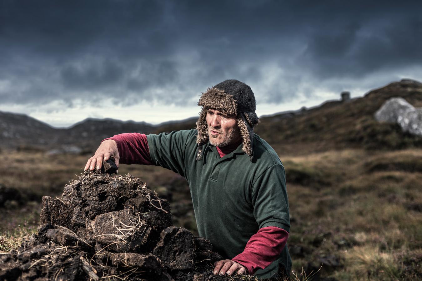 Harris Islander portraits