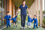 children from Kelvinside Academy nursery