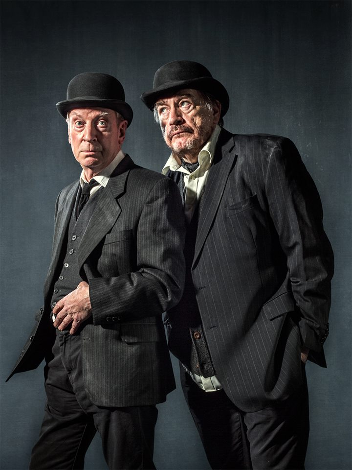 publicity poster for Waiting for Godot production at Lyceum Theatre in edinburgh