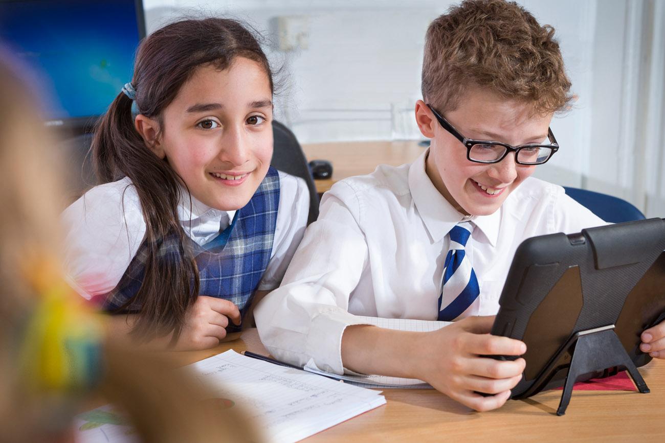 children from Kelvinside Academy primary