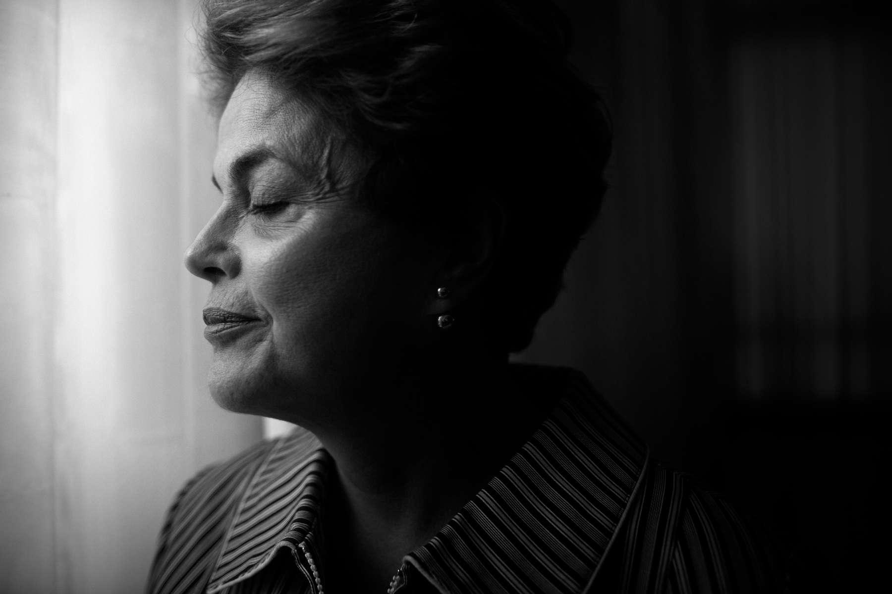 Dilma Rousseff. Former President of Brazil. Brasilia