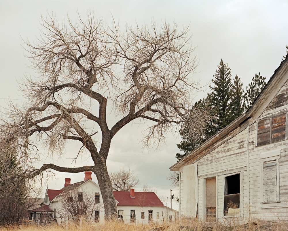 The abandoned Swan Land and Cattle Company headquarters. Established in 1873, it was one of the largest ranching outfits in the American west, at one time running 113,000 head of cattle on more than a million acres of land.