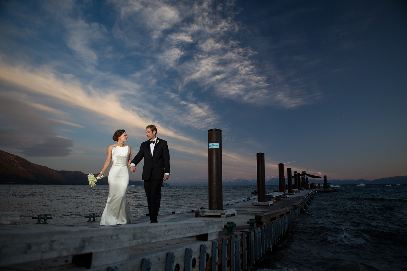 hyatt lake tahoe wedding photo