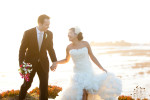 ritz carlton half moon bay wedding photo