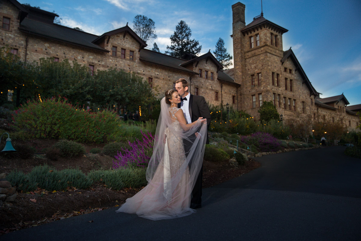 Wedding at the Culinary Institute in Napa