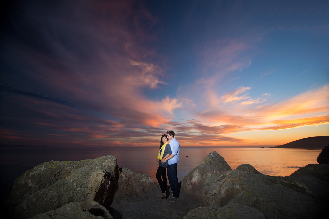 san luis obispo engagement photo
