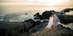 Point Lobos engagement session at sunset