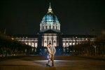 City Hall engagement photos