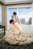 bridal portrait at the Fairmont in San Francisco