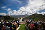 wedding ceremony at holman ranch in carmel
