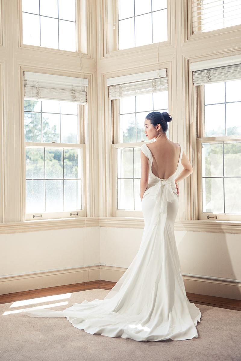bridal portrait at a kohl mansion wedding