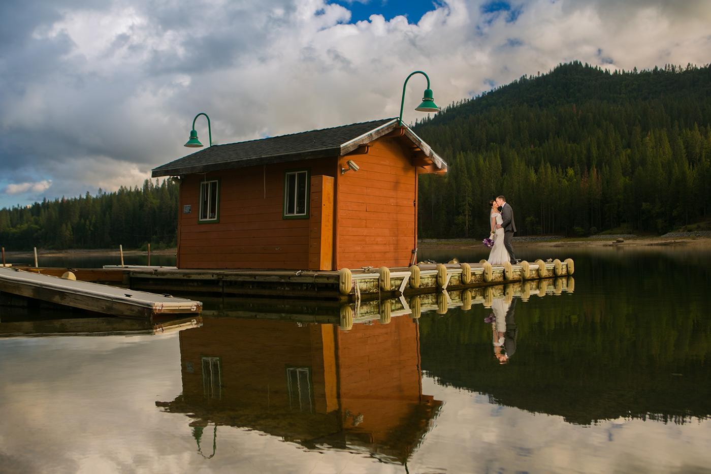 Pines Resort Bass Lake    Wedding Photos